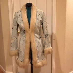 Gorgeous suede coat